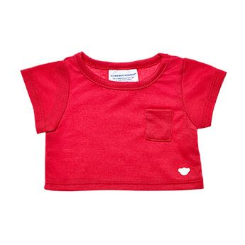 RED POCKET TEE