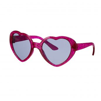 PINK HEART SUNGLASSES