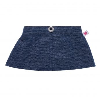 DENIM SPARKLE SKIRT