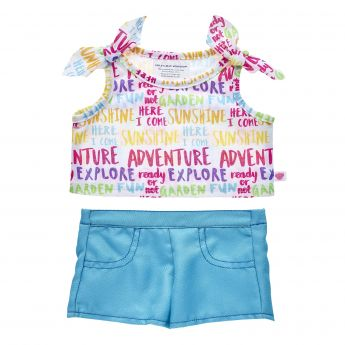 RAINBOW ADVENTURE SHORT SET