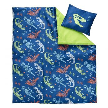 DINO BLUE BEDDING