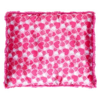 PROMISE PETS PINK HEART BED