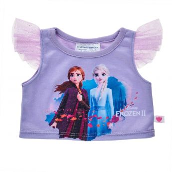 DISNEY FROZEN 2 PURPLE TEE