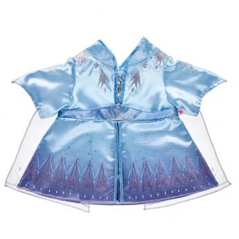 DISNEY FROZEN 2 ELSA TRAVEL COSTUME