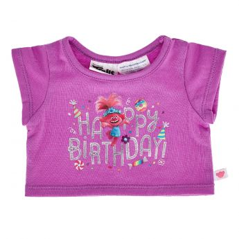 DREAMWORKS TROLLS POPPY BIRTHDAY TSHIRT