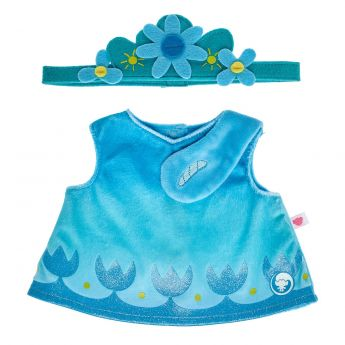 DREAMWORKS TROLLS POPPY BLUE DRESS
